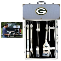 Green Bay Packers NFL 8 pc BBQ Set