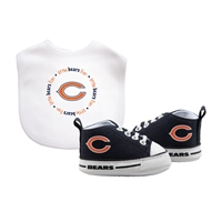 Chicago Bears NFL Infant Bib and Shoe Gift Set