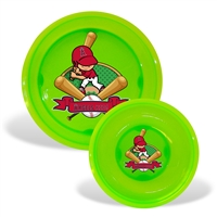 Los Angeles Angels MLB Toddler Plate and Bowl Set