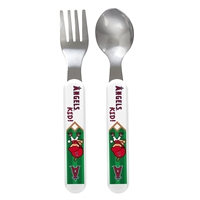 Los Angeles Angels MLB Infant 2-Piece Cutlery Set