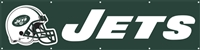 New York Jets NFL 8' x 2' Giant Banner