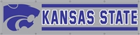Kansas State Wildcats 8' x 2' Giant Banner