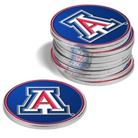 Arizona Wildcats 12 Pack Collegiate Ball Markers