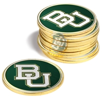 Baylor Bears 12 Pack Collegiate Ball Markers
