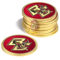 Boston College Eagles 12 Pack Collegiate Ball Markers
