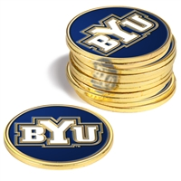 Brigham Young Cougars BYU 12 Pack Collegiate Ball Markers