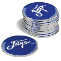 Creighton Blue Jays 12 Pack Collegiate Ball Markers
