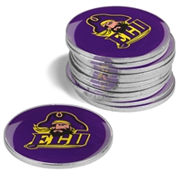 East Carolina Pirates 12 Pack Collegiate Ball Markers