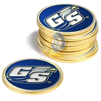 Georgia Southern Eagles 12 Pack Collegiate Ball Markers