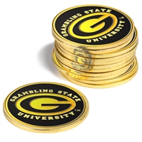 Grambling State University Tigers 12 Pack Collegiate Ball Markers