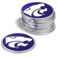 Kansas State Wildcats 12 Pack Collegiate Ball Markers