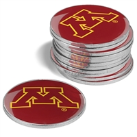 Minnesota Golden Gophers 12 Pack Collegiate Ball Markers