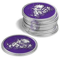 Texas Christian Horned Frogs 12 Pack Collegiate Ball Markers
