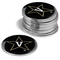 Vanderbilt Commodores 12 Pack Collegiate Ball Markers