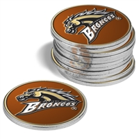 Western Michigan Broncos 12 Pack Collegiate Ball Markers