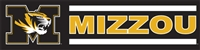 Missouri Tigers 8' x 2' Giant Banner