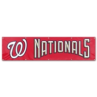 Washington Nationals MLB 8' x 2' Giant Banner