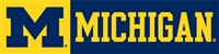 Michigan Wolverines 8' x 2' Giant Banner