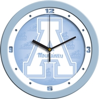 "Appalachian State Mountaineers 12"" Wall Clock - Blue"