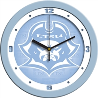 "East Tennessee State Buccaneers 12"" Wall Clock - Blue"