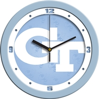 "Georgia Tech Yellow Jackets 12"" Wall Clock - Blue"