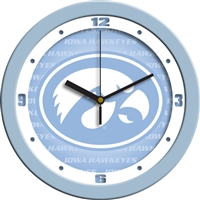 "Iowa Hawkeyes 12"" Wall Clock - Blue"