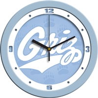 "Montana Grizzlies 12"" Wall Clock - Blue"