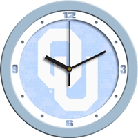 "Oklahoma Sooners 12"" Wall Clock - Blue"