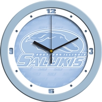 "Southern Illinois Salukis 12"" Wall Clock - Blue"