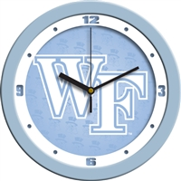 "Wake Forest Demon Deacons 12"" Wall Clock - Blue"