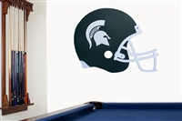 Michigan State Spartans   Giant Helmet Art