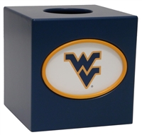West Virginia Mountaineers Tissue Box Cover