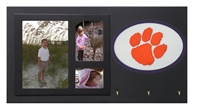Clemson Tigers Key Holder with Picture Frame