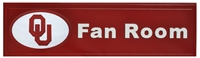 Oklahoma Sooners Fan Room Plaque