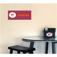Fan Creations Virginia Tech Hokies Team Name Plaque