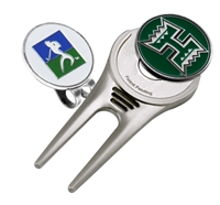 Hawaii Warriors Cap Tool w/ Ball Marker