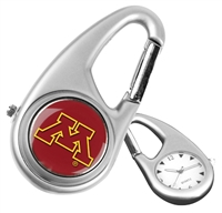 Minnesota Golden Gophers Carabiner Watch