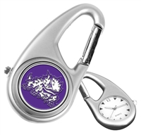 Texas Christian Horned Frogs Carabiner Watch