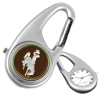 Wyoming Cowboys Carabiner Watch