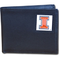 Illinois Fighting Illini Bi-fold Wallet