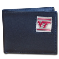 Virginia Tech Hokies College Bi-fold Wallet