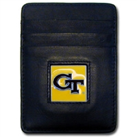 Georgia Tech Yellow Jackets Money Clip/Card Holder