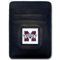 Mississippi State Bulldogs Money Clip/Card Holder