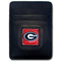 Georgia Bulldogs Money Clip/Card Holder