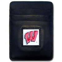 Wisconsin Badgers Money Clip/Card Holder
