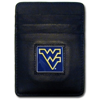 West Virginia Mountaineers Money Clip/Card Holder