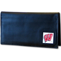 Deluxe College Checkbook - Wisconsin Badgers