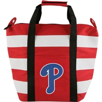 Philadelphia Phillies MLB Freeze Striped Insulated Tote Bag
