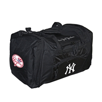 New York Yankees MLB Roadblock Duffle Bag (Black)