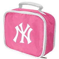 New York Yankees MLB Lunchbreak Lunchbox (Pink)